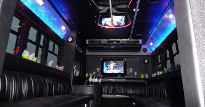 20 Passengers Party Bus Rental San Francisco