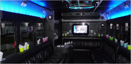 20 Passengers Party Bus Rentals San Francisco CA