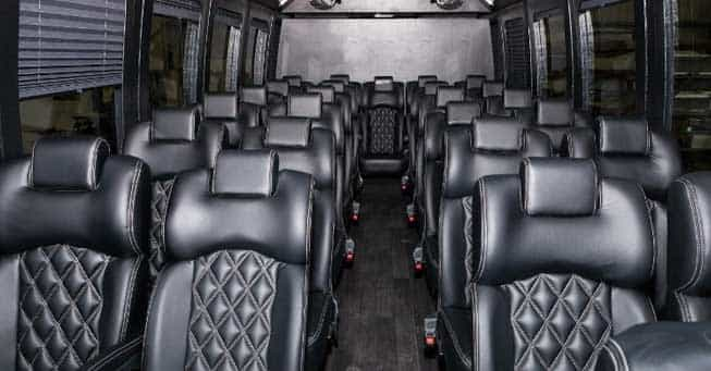 30 Passenger Bus Shuttle Bus Interior