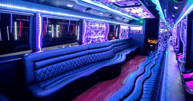 Party Bus 32 to 55 Passenger