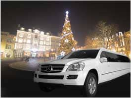 A1 Luxury Limo For Christmas Light Tour In SF