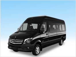 Mercedes Sprinter for San Francisco
