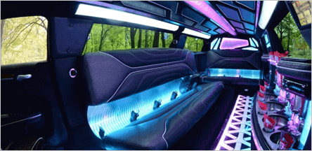 A1 Chrysler 300 Limo Interior
