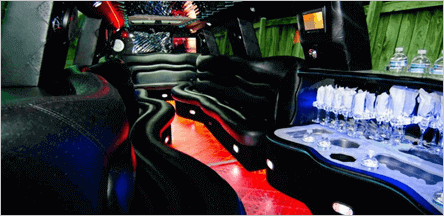 A1 Escalade Limo Interior