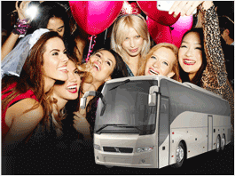 Bachelor Party Limo Party Bus San Francisco