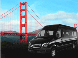 Golden Gate Bridge Tour Bus Rental