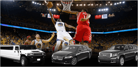 Golden State Warriors Game Transportation By A1 Luxury Transport