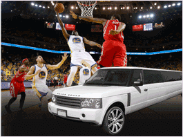 HIRE AN EXQUISITE RIDE TO WATCH GOLDEN STATE WARRIORS IN STYLE