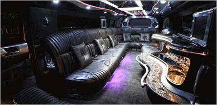 Hummer Limo Interior San Francisco