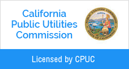 Licensed by CPUC