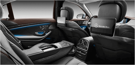 Mercedes S Class San Francisco Interior