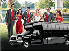 Prom Formal Limo Party Bus San Francisco