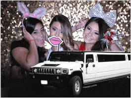 Quinceanera Sweet16 Limo Party Buses