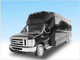 Party Bus 15 to 23 Passenger Limousine Service for San Francisco