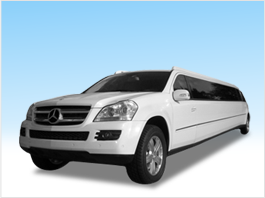 Rent Mercedes GL SUV Limo San Francisco