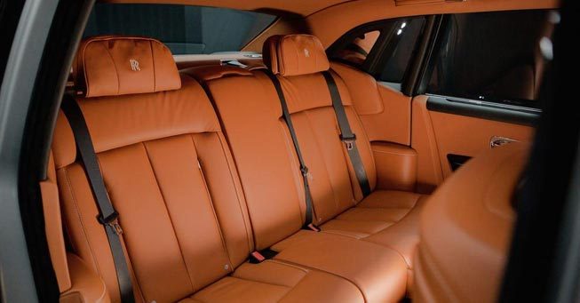 Rolls Royce Phantom Sedan Interior San Francisco