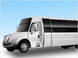 San Francisco Limo Bus Rental 25-34 Passengers