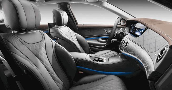 Mercedes S550 Limousine