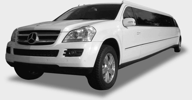 Mercedes gl550 limousine in san francisco by a1 limos for Mercedes benz limousine rental