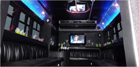 San Francisco Party Bus Rentals 20 Passengers