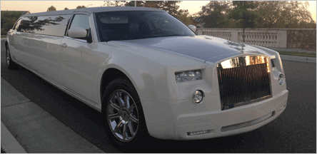 San Francisco Rolls Royce Stretch Limo Exterior